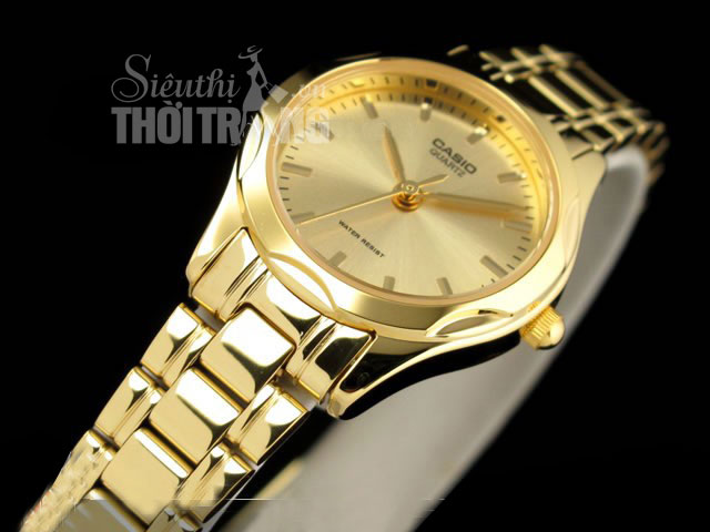 Đồng hồ nữ  Lady casio gold cao cấp 2014