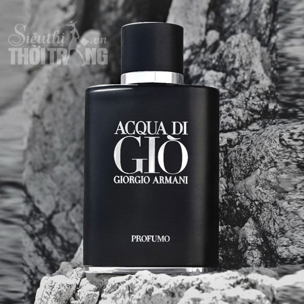 nước hoa đen Acqua Di Gio Profumo Black for Men